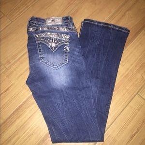Miss Me Dark wash jeans